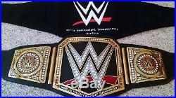 Wwe World Heavyweight Championship Metal Adult Size Smackdown Replica Title Belt