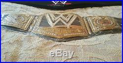 Wwe World Heavyweight Championship Replica Title Belt. Raw V2 Rock Debut 2013
