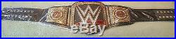 Wwe World Heavyweight Championship Title Belt. Replica In Collectors Box. New