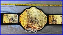 Wwe World Heavyweight Wrestling Championship Replica Leather Belt Jr Size 41 In