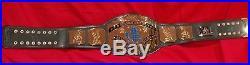 Wwe Wwf Intercontinental Championship Wrestling Belt Dave Millican