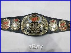 Wwe Wwf Stone Cold Smoking Skull Championship Belt Adult Size Replica