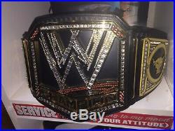 Wwe Wwf The Rock Heavyweight Championship Belt Adult Figures Inc Metal