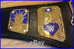 Wwe Wwf U. S. United States Releathered Championship Wrestling Belt With Tip