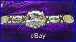 Wwe Wwf Undertaker Championship Belt Adult Size Brass Plates