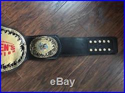 Wwe Wwf Womens Championship Belt Replica Trish Stratus Metal Leather Adult Size