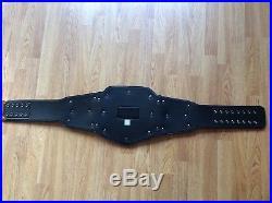 Wwe adult metal replica world heavyweight championship wrestling belt tittle