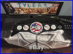 Wwe championship belt And Us Belt