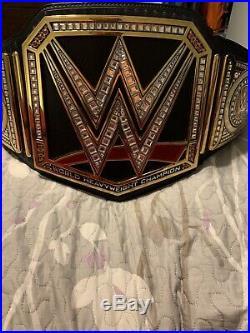 Wwe championship belt adult replica