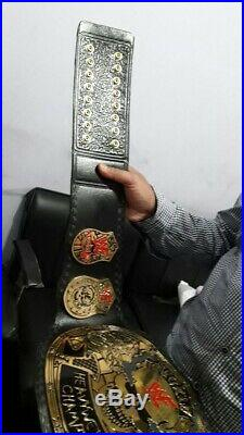 Wwe championship skull stone cold steve austin adult belt