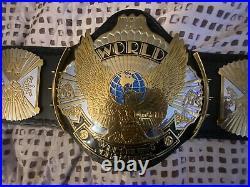 Wwe replica belt wing eagle belt dual plated Championship