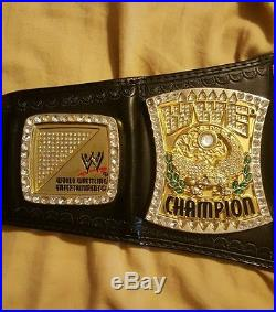 Wwe replica championship john cena spinner belt metal plates