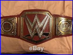 Wwe universal championship belt