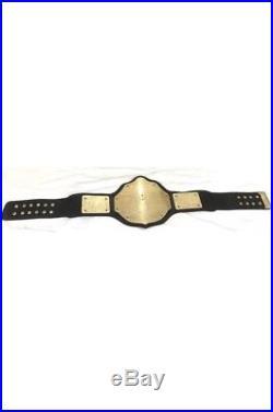 Wwe/wcw Big Gold World Heavyweight Championship Adult Belt Replica Gold Plated