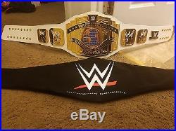 Wwe white Intercontinental Championship belt adult size