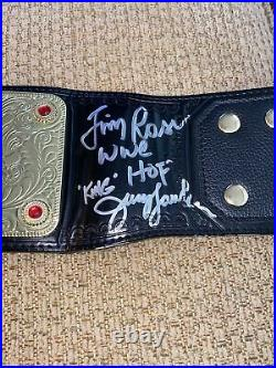 Wwe world heavyweight championship belt replica with edge nameplate