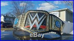 Wwe world heavyweight championship replica belt