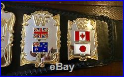 Wwf Andre 87 Releathered Championship Wrestling Belt Wwe Officially Licensed