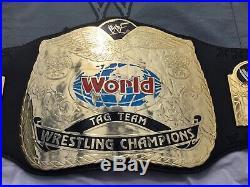 Wwf Attitude Era tag team championship Replica Wrestling belt Wwe Wcw Tna Nwa