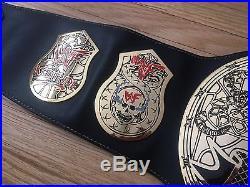 Wwf Smoking Skull Championship Belt Roh Wcw Tna Wwe
