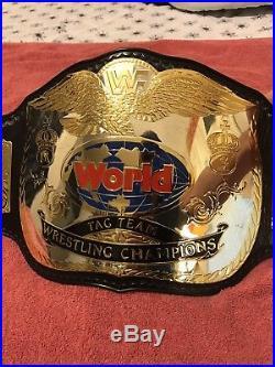 Wwf Tag Team Championship Belt WWFBELT WWF WWE WCW TNA ROH