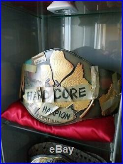 Wwf Wwe Hardcore Belt Figs Inc Title Championship Rare