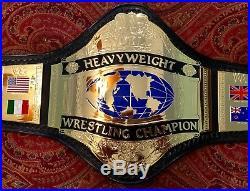 Wwf Wwe Hogan 86 Releathered Championship Wrestling Belt Officially Licensed