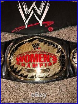 Wwf Wwe Lita Amy Dumas Figs Inc Autographed Women's Championship Belt Pic Proof
