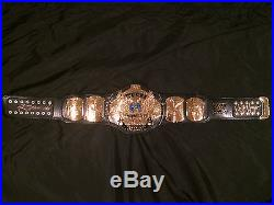 Wwf Wwe Winged Eagle Championship Belt Autographed By Hogan And Flair