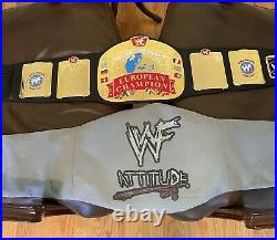 Wwf wwe european championship replica belt Figures Inc Rare
