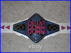 Xavier Woods / New Day Up Up Down Down Video Game Championship Wwe Replica Belt