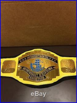 Yellow WWE Intercontinental Championship Belt, Ultimate Warrior