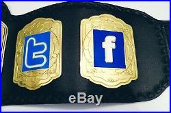 Zack Rider Internet Championship Adult Size Belt WWE WWF AEW NWA